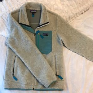 Grey & Teal Patagonia - Brand new